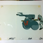 Masters  of the Universe Filmation  Horde Trooper and canon Artwork #1